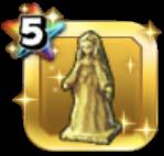 きぼりの女神像
