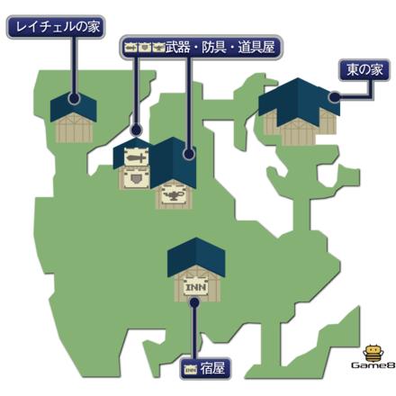 コーリンゲン(崩壊後)のマップ