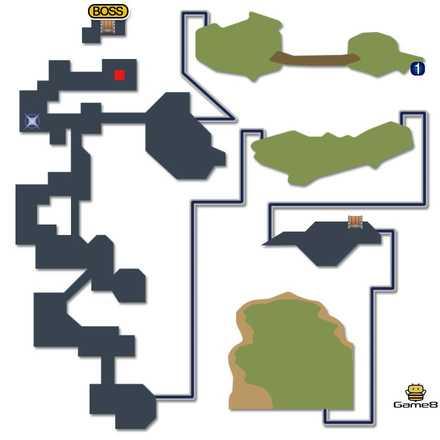 ゾゾ山のマップ