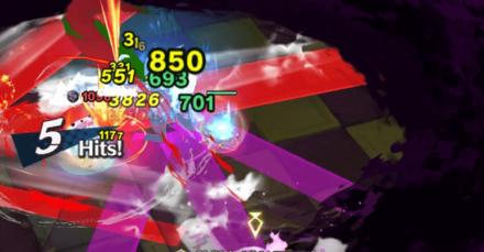 2回目は赤+紫範囲なので避けにくくなる