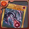 真紅眼の黒竜のカードの画像