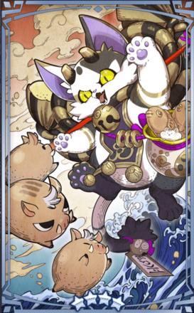 猫猪戯画の画像