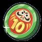 10連福袋コインのアイコン
