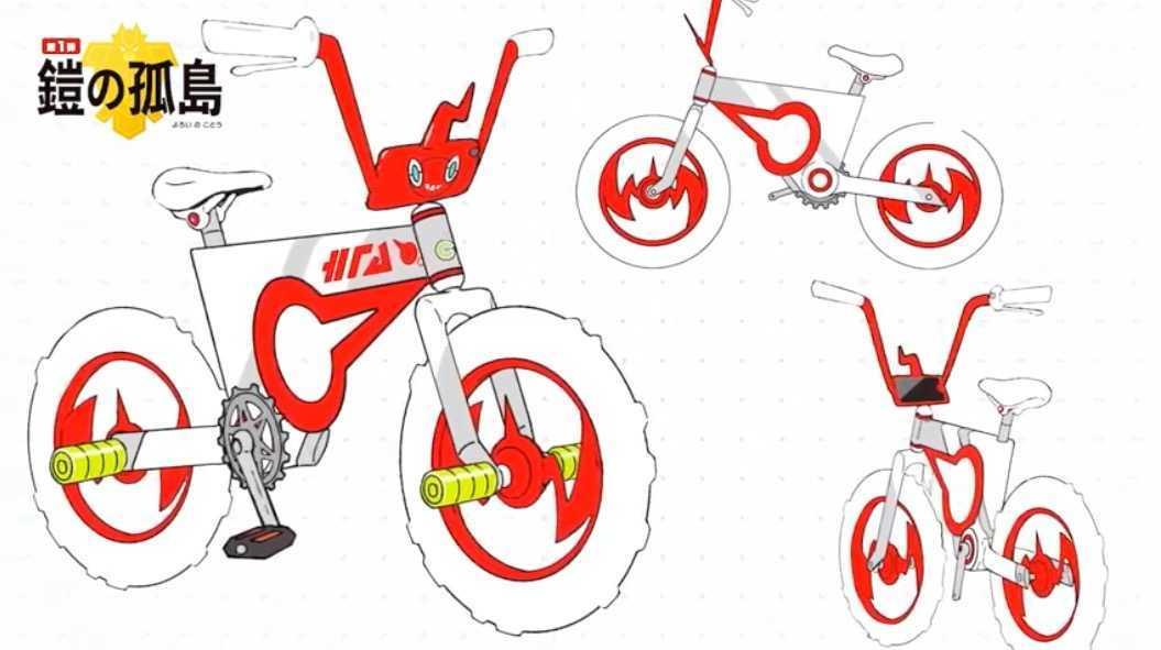 ロトム自転車