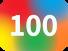 100のアイコン