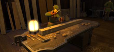 木工師 解放方法