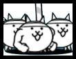ネコ棒倒しの画像