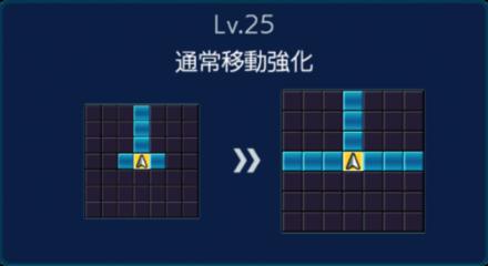 劉備Lv25移動強化