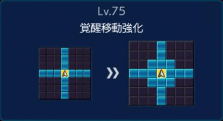 劉備Lv75移動強化