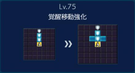 典韋Lv75移動強化