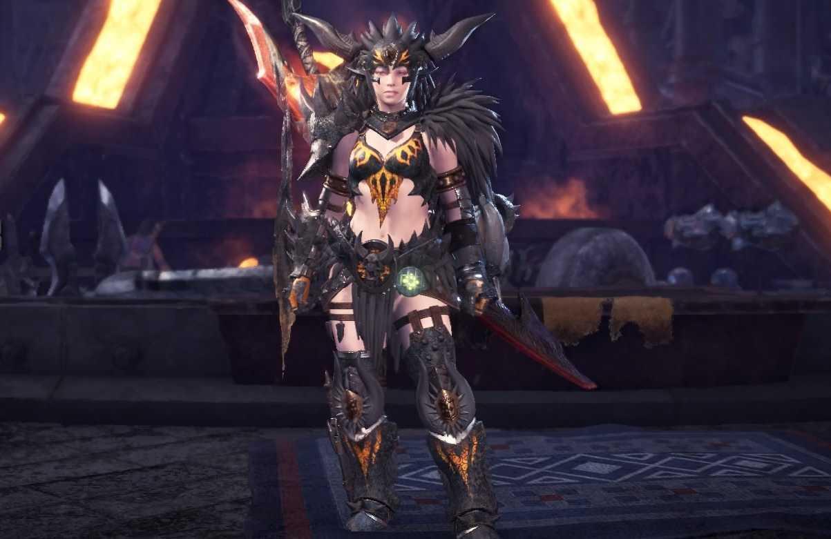 Nergigante Alpha Layered Armor