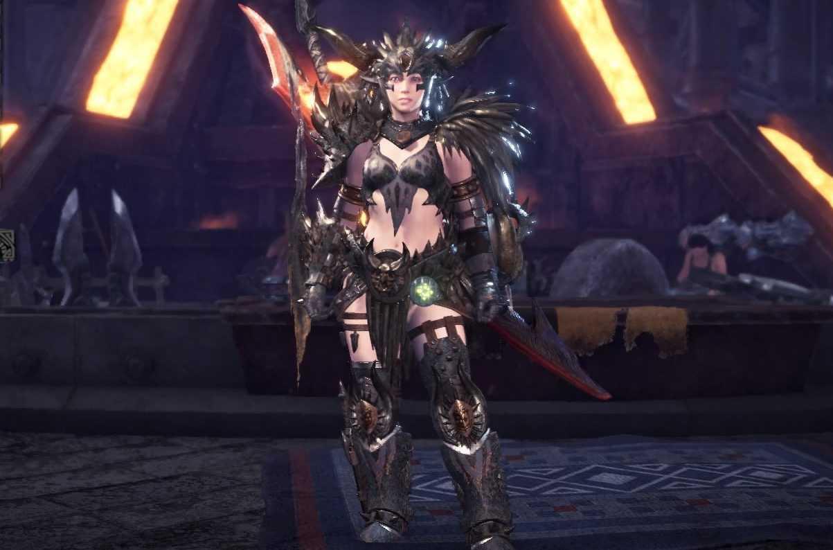 Nergigante Gamma Layered Armor