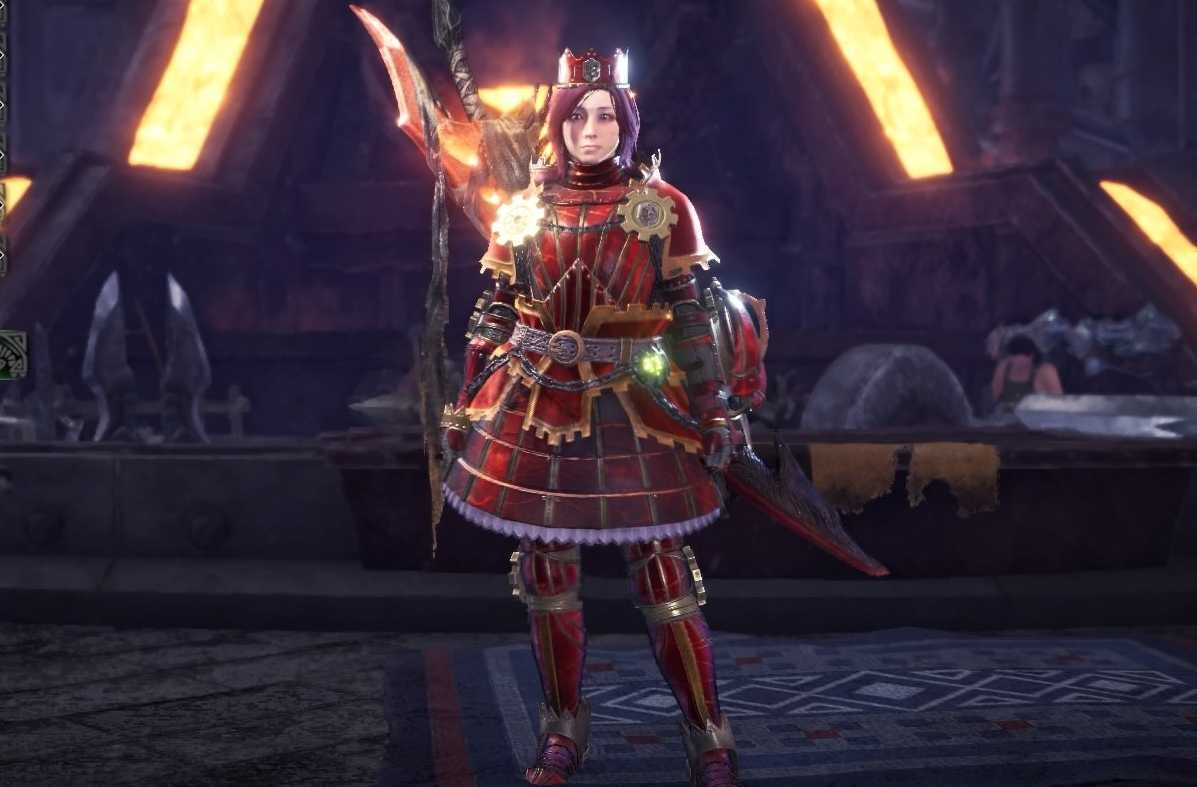Teostra Alpha Layered Armor