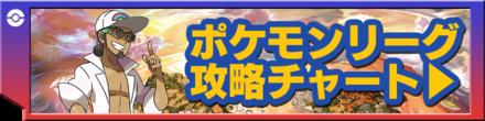 ポケモンリーグの攻略チャート