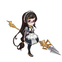 オフィーリア(竜槍のメイド)のSDアイコン