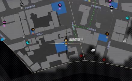 浪漫製鉄所の場所(マップ)