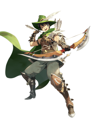 ロバート(緑の遊撃手)の画像