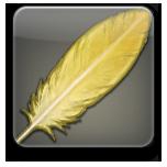 ゴールドチョコボの羽根