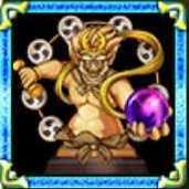 雷電の鬼神像の画像