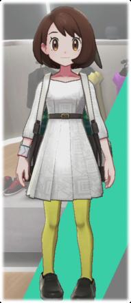 サテンプリーツドレス