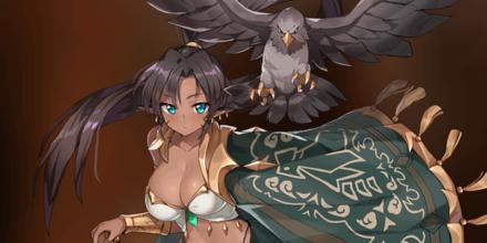 鷹狩のクルリの画像