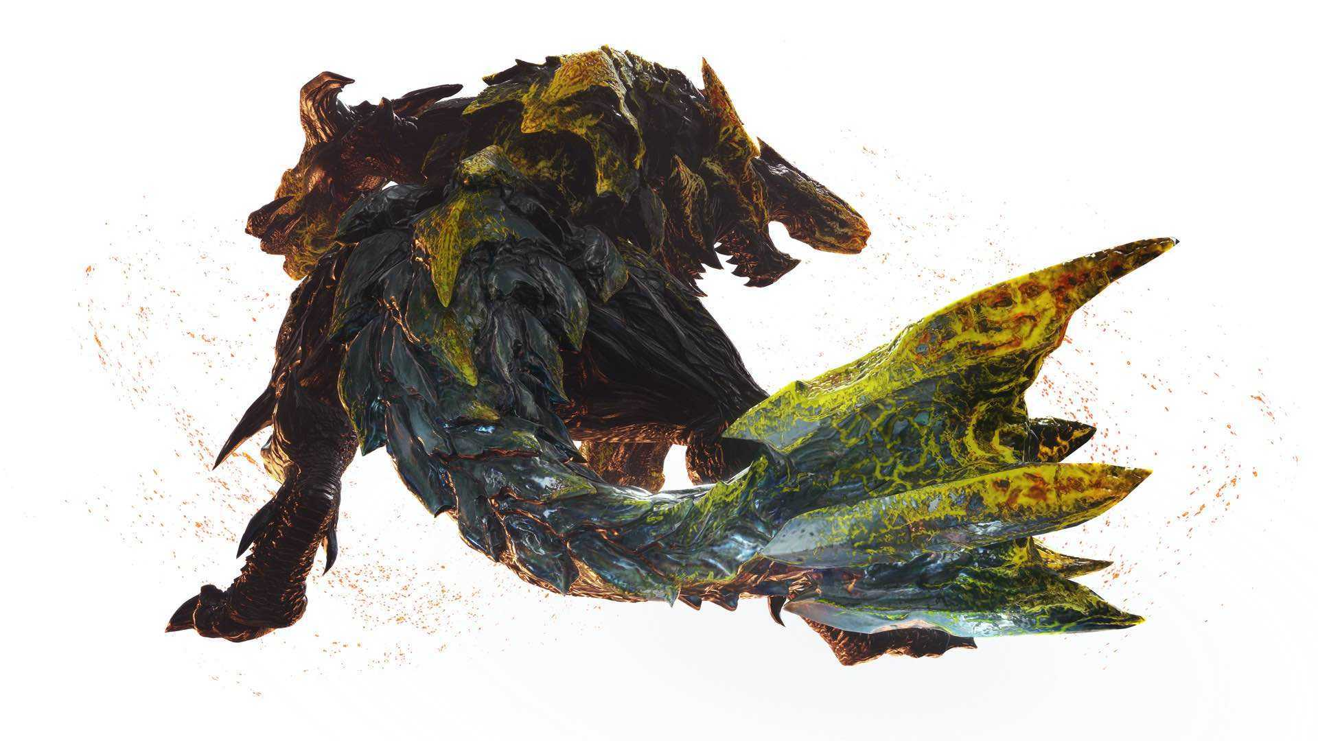 Monster Hunter World Raging Brachydios