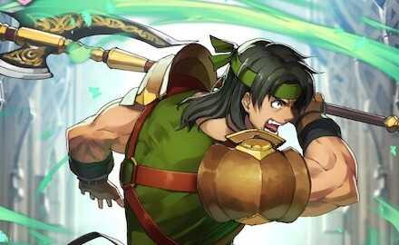オーシン(怒れる斧戦士)のバナー