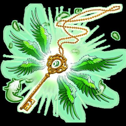 【神】アークエンジェルネックレス・風翼鍵のアイコン