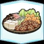 鍋の具材の画像