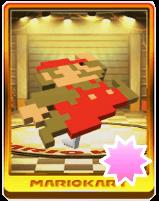8-bitジャンプマリオの画像