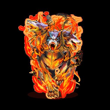 獄炎のケルベロス
