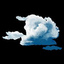 曇りの画像