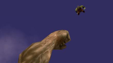 戦闘シーンの画像