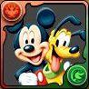ミッキーマウス&プルートの画像