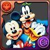 ミッキーマウス&ドナルドダック&グーフィーの画像