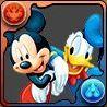 ミッキーマウス&ドナルドダックの画像