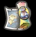 幻の地図【素材】の画像