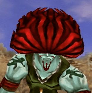 焔色の髪の男のアイコン