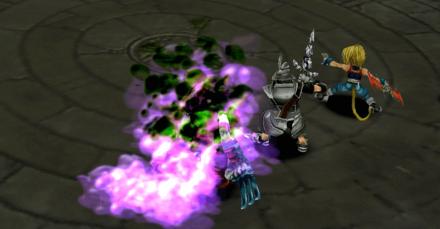 毒攻撃の画像