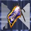 RISING単車旗【青】の画像