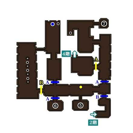 魔王の城3階