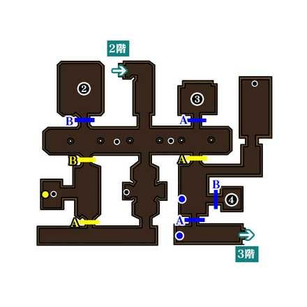 魔王の城2階