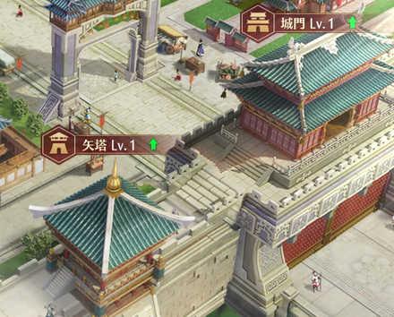 矢塔・城門