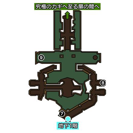 海神の神殿地下2階