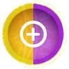 黄紫アイコン