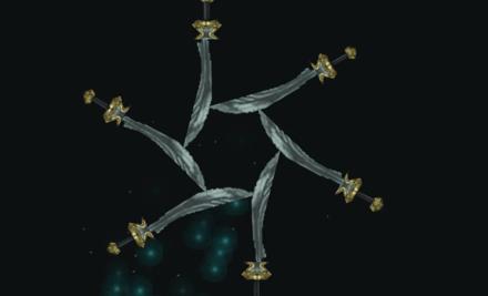 剣の雨の画像