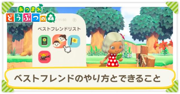 あつ森 フレンドアプリ