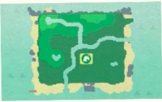 ハート型の地形1