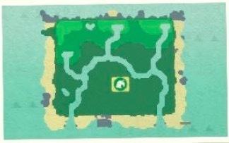 ハート型の地形3