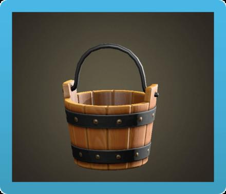 Wooden Bucket Image